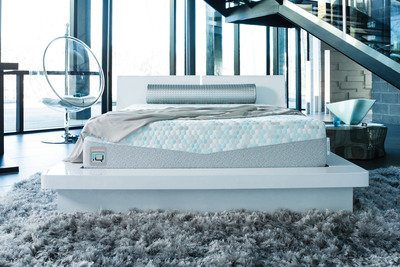 ComforPedic iQ is the only mattress to use patented, clinically tested, self-calibrating technology that naturally responds and continuously adapts to the body without motors, buttons, plugs or electronics. This new line will debut at Las Vegas Market January 26, 2014.  (PRNewsFoto/Simmons Bedding Company)