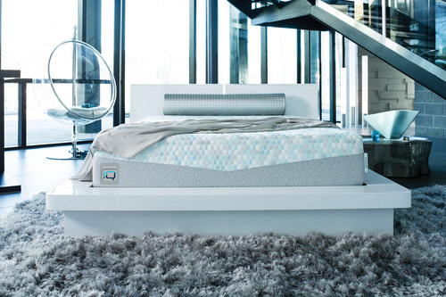 ComforPedic iQ is the only mattress to use patented, clinically tested, self-calibrating technology that ...