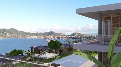Porto Maho Vistas View Rendering