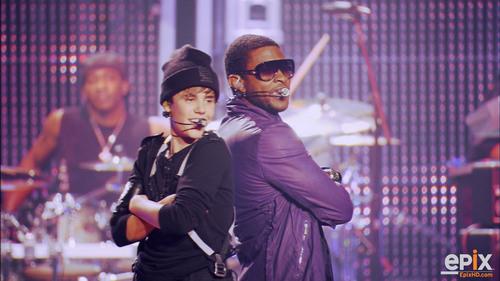 Usher & Bieber Back 2 Back