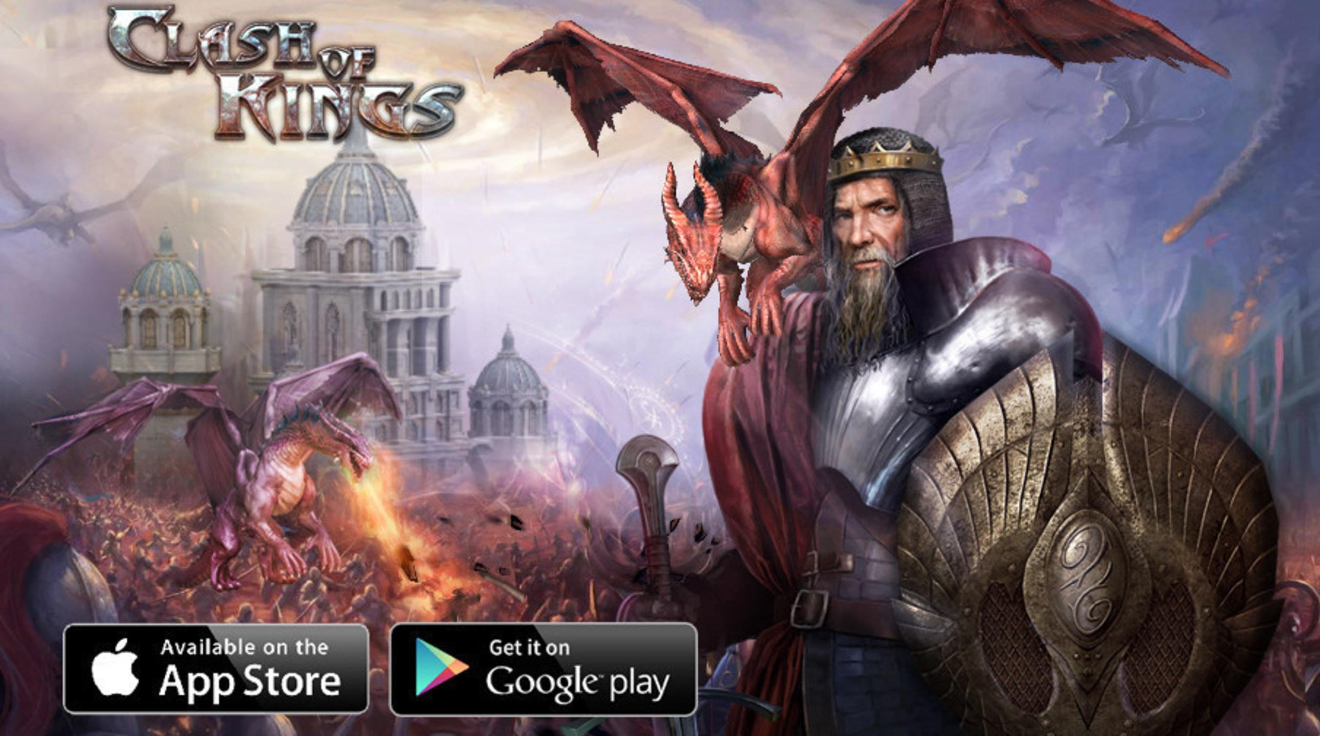 Clash of Kings schnappt Clash of Clans Platz 1 der umsatzstärksten Apps in Russland weg
