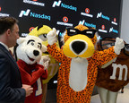 Victory Is Cheesy - Chester Cheetah Inducted Into Madison Avenue Walk Of Fame