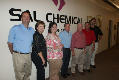 Congressman Johnson (R-OH) visits SAL Chemical facility in Weirton, West Virginia.  (PRNewsFoto/National Association of Chemical Distributors (NACD))