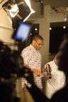 Russell Westbrook takes a break and enjoys a Mtn Dew Kickstart with his buddies while on set for his first commercial with the brand after announcing a multi-year partnership with Mountain Dew. The new ad will debut on February 14.