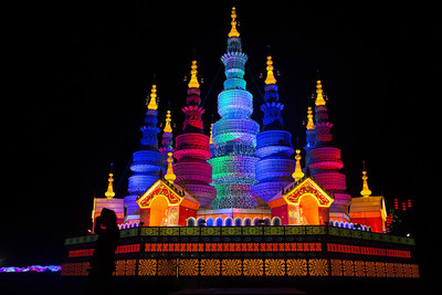 The illuminations are based on two of the most famous Chinese dynasties