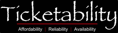 Affordability, Reliability, and Availability at Ticketability.com. (PRNewsFoto/Ticketability, LLC) (PRNewsFoto/TICKETABILITY, LLC)