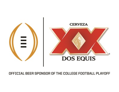 Dos Equis Becomes the Official Beer Sponsor of the College Football Playoff on ESPN (PRNewsFoto/Dos Equis)