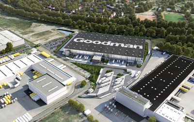 Goodman develops 24,000 sqm export hub for Volkswagen in Duisport, Germany.  (PRNewsFoto/Goodman Group)