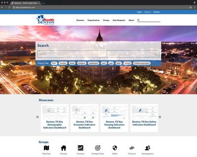 Denton's OpenGov Open Data Portal
