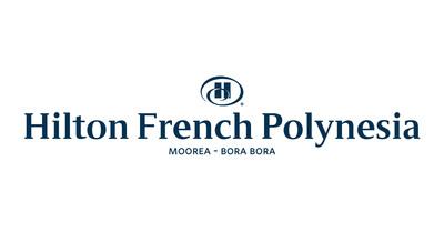 Hilton French Polynesia Moorea - Bora Bora Logo. (PRNewsFoto/Air Tahiti Nui) (PRNewsFoto/AIR TAHITI NUI)