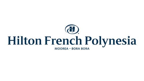 Hilton French Polynesia Moorea - Bora Bora Logo.  (PRNewsFoto/Air Tahiti Nui)