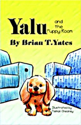 Book cover for Yalu and the Puppy Room.  (PRNewsFoto/Little Brown Dog)