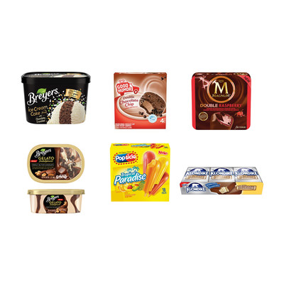 Unilever Ice Cream 2016 Products