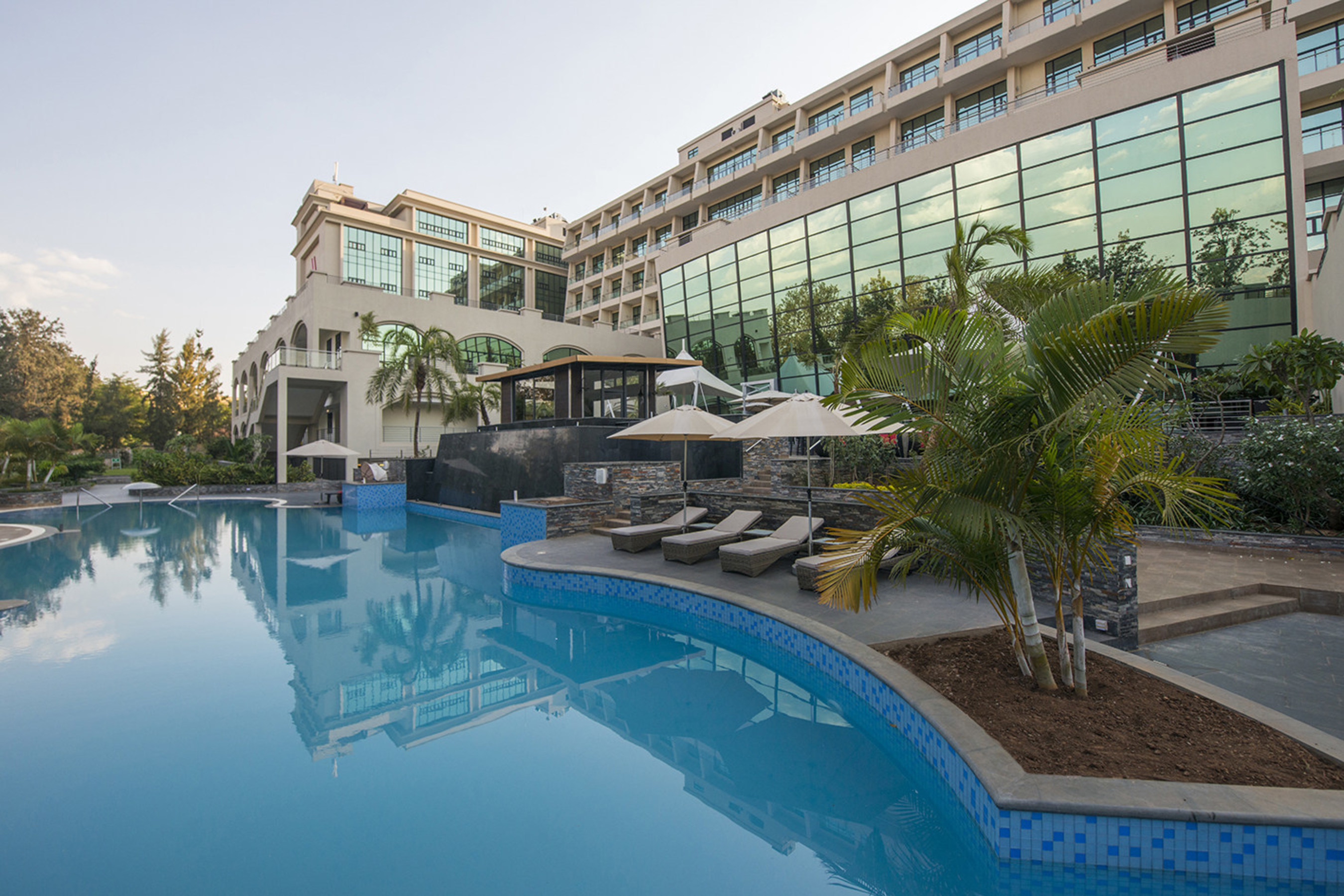 The Kigali Marriott Hotel,  the first Marriott Hotel in Rwanda, officially opened its door.