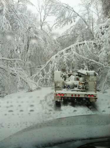 Mon Power Restores Service to 60 Percent of Customers Affected by Hurricane Sandy