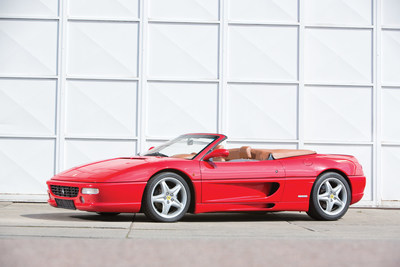 1998 Ferrari F355 Spider - Photo Courtesy of RM Sothebys