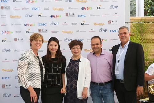 The GIA 2016, were established by leading Chinese management consulting firm Shengjing Group. The Israel segment of the competition is led by internationally recognized VC firm Jerusalem Venture Partners (JVP). (PRNewsFoto/Jerusalem Venture Partners (JVP))
