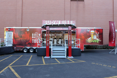 The new mobile Budweiser Brewmaster Tour will begin a 45-week journey today in St. Louis and travel to various ...