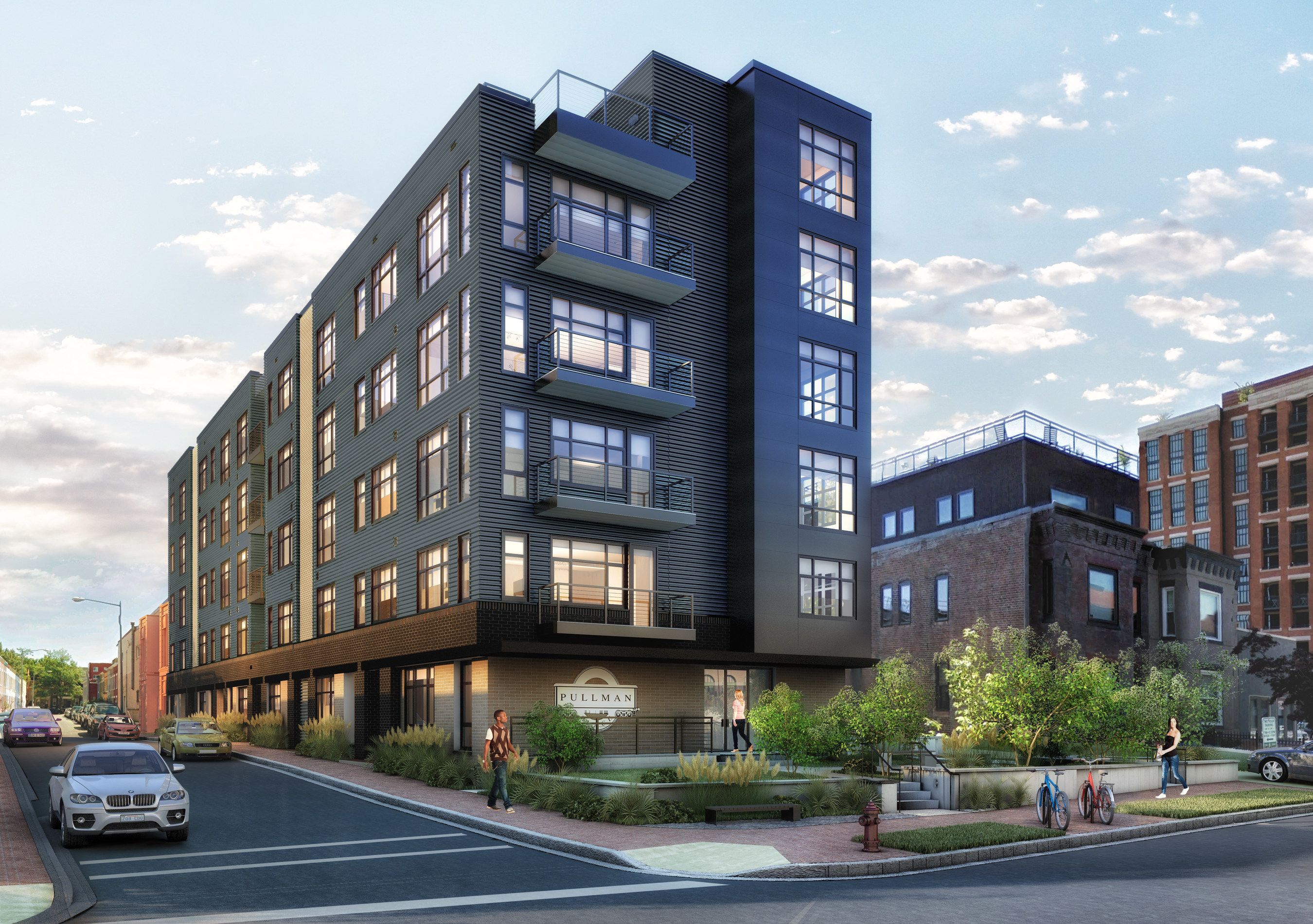 Rendering of Pullman Place located at 909 2nd Street, NE in Washington, D.C.