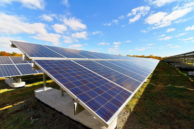 The L&D Solar Farm is comprised of 41,720 solar panels that cover 53 acres of landfill space spanning the towns of Eastampton, Lumberton and Mount Holly, NJ.  The L&D Solar Farm will generate enough electricity to power 2,000 average-size New Jersey homes annually.