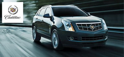 The 2014 Cadillac SRX is in stock now at Sheboygan Cadillac. (PRNewsFoto/Sheboygan Cadillac)