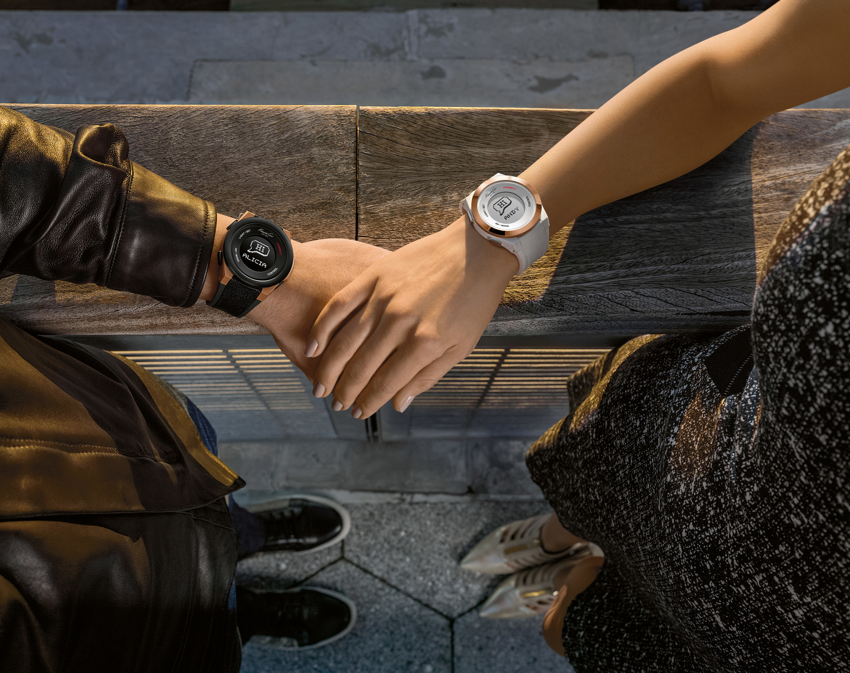 Kenneth Cole lance la montre de mode intelligente Kenneth Cole Connect™