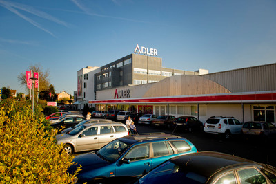 W. P. Carey announces $29 million acquisition of Adler Modemarkte headquarters and flagship store by its REIT affiliate, CPA(R):17 - Global.  Adler is one of Germany's most prominent clothing retailers. The facility is located in Haibach, Germany.(PRNewsFoto/W. P. Carey Inc.)