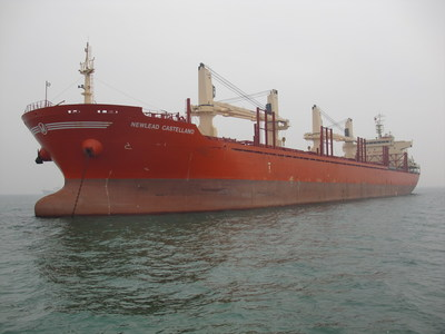 NewLead Holdings Ltd.: Delivery of Newlead Castellano, a 2013-built eco-type Handysize dry bulk carrier (PRNewsFoto/NewLead Holdings Ltd.)