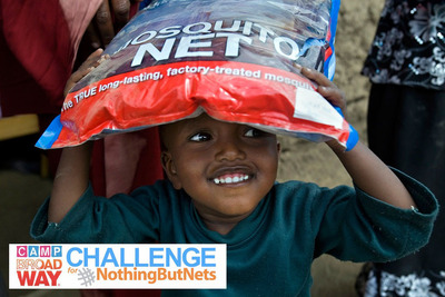 Camp Broadway Challenge - Nothing But Nets.  (PRNewsFoto/Camp Broadway)