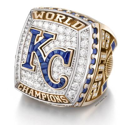 Kansas City Royals 2015 World Series Championship Ring