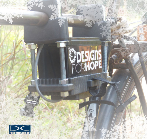 Del City and Designs for Hope Give the Gift of Electricity. Visit delcity.net to find hard to find electrical and transportation supplies.  (PRNewsFoto/Del City)