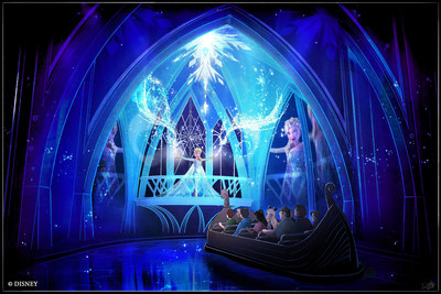"Walt Disney World's ""Frozen Ever After"" ride opens in the Norway Pavilion at Epcot this year."