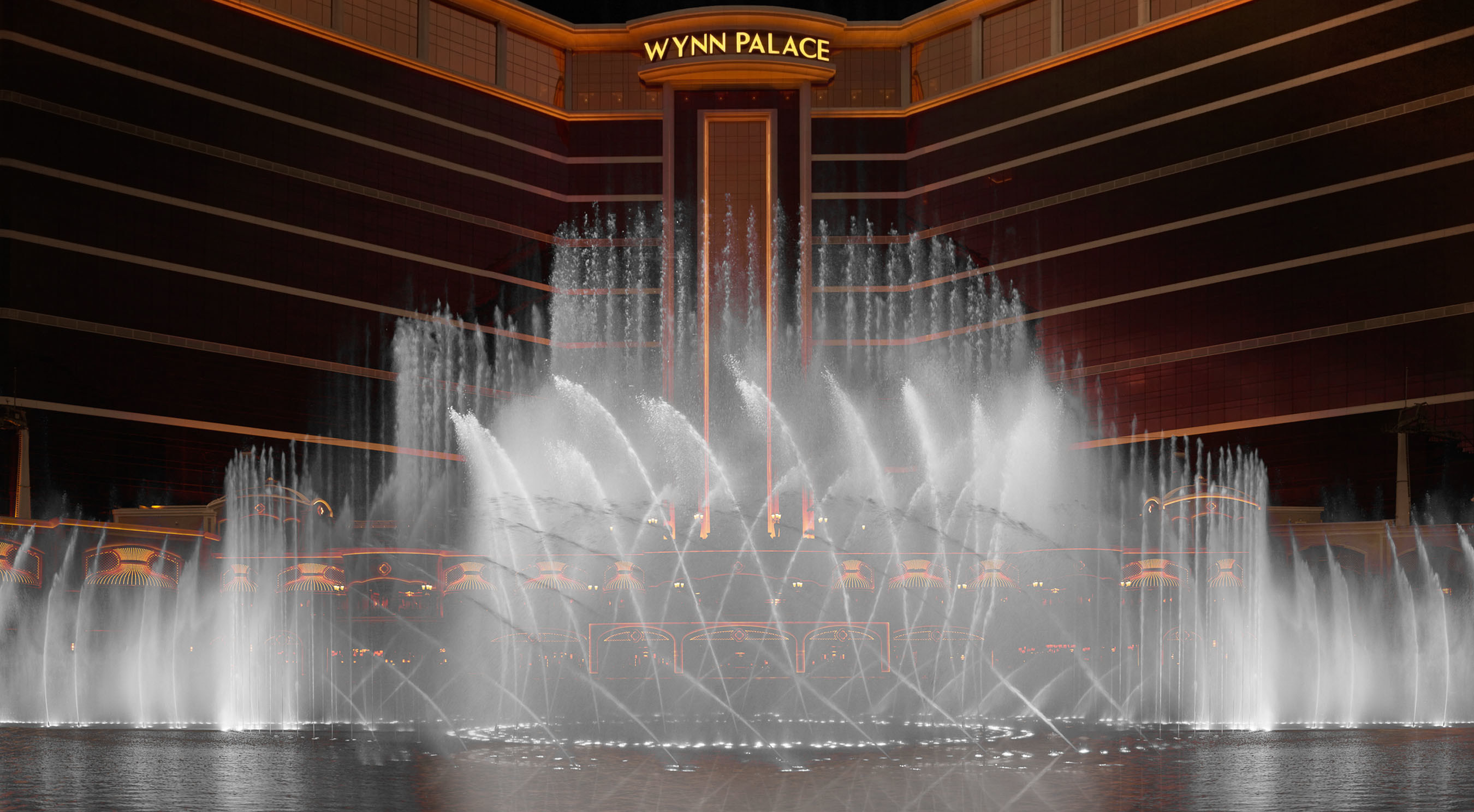 Wynn Palace, located in the heart of Cotai, Macau, officially opened to the world with a spectacular Performance Lake show choreographed to its signature song, 'Elegance'.