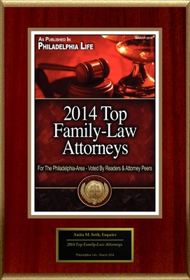 "Anita M. Seth Selected For ""2014 Top Family-Law Attorneys"" (PRNewsFoto/American Registry)"