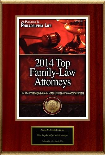 "Anita M. Seth Selected For ""2014 Top Family-Law Attorneys"" (PRNewsFoto/American Registry)"
