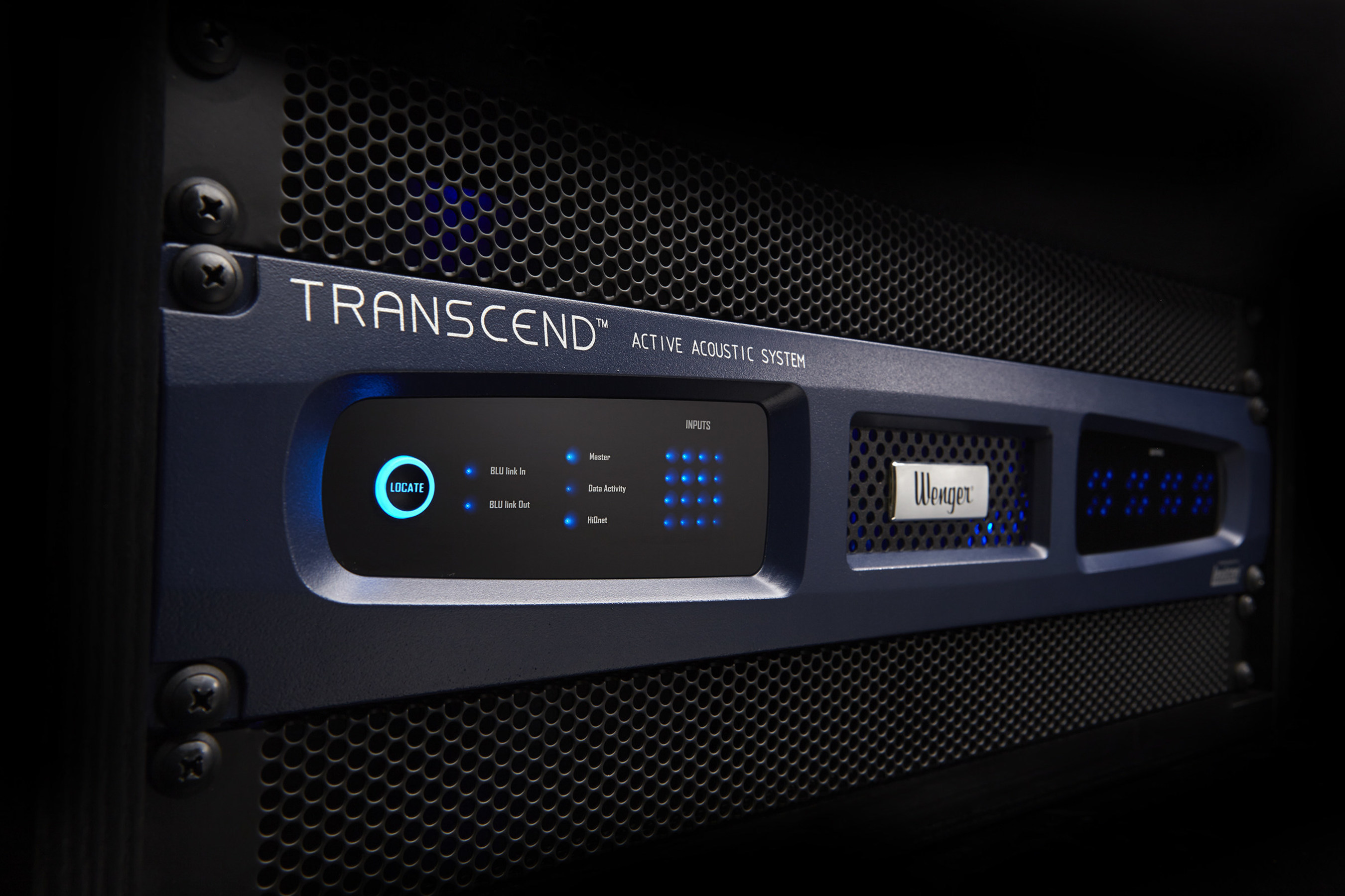 Wenger introduces Transcend(TM) Active Acoustic System with HARMAN Lexicon technology.