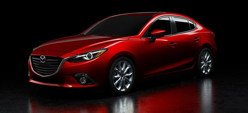 The 2014 Mazda3 and 2013 Hyundai Elantra put their performances to the test at Ingram Park Mazda.  (PRNewsFoto/Ingram Park Mazda)