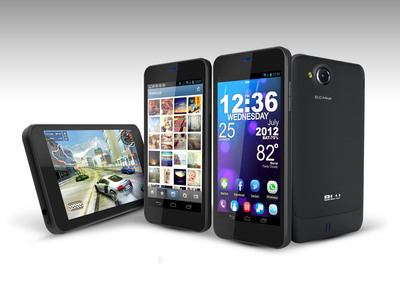 BLU Products announces the VIVO 4.65 HD, as follow up to VIVO Series of smartphone devices with Super AMOLED Displays.  (PRNewsFoto/BLU Products)