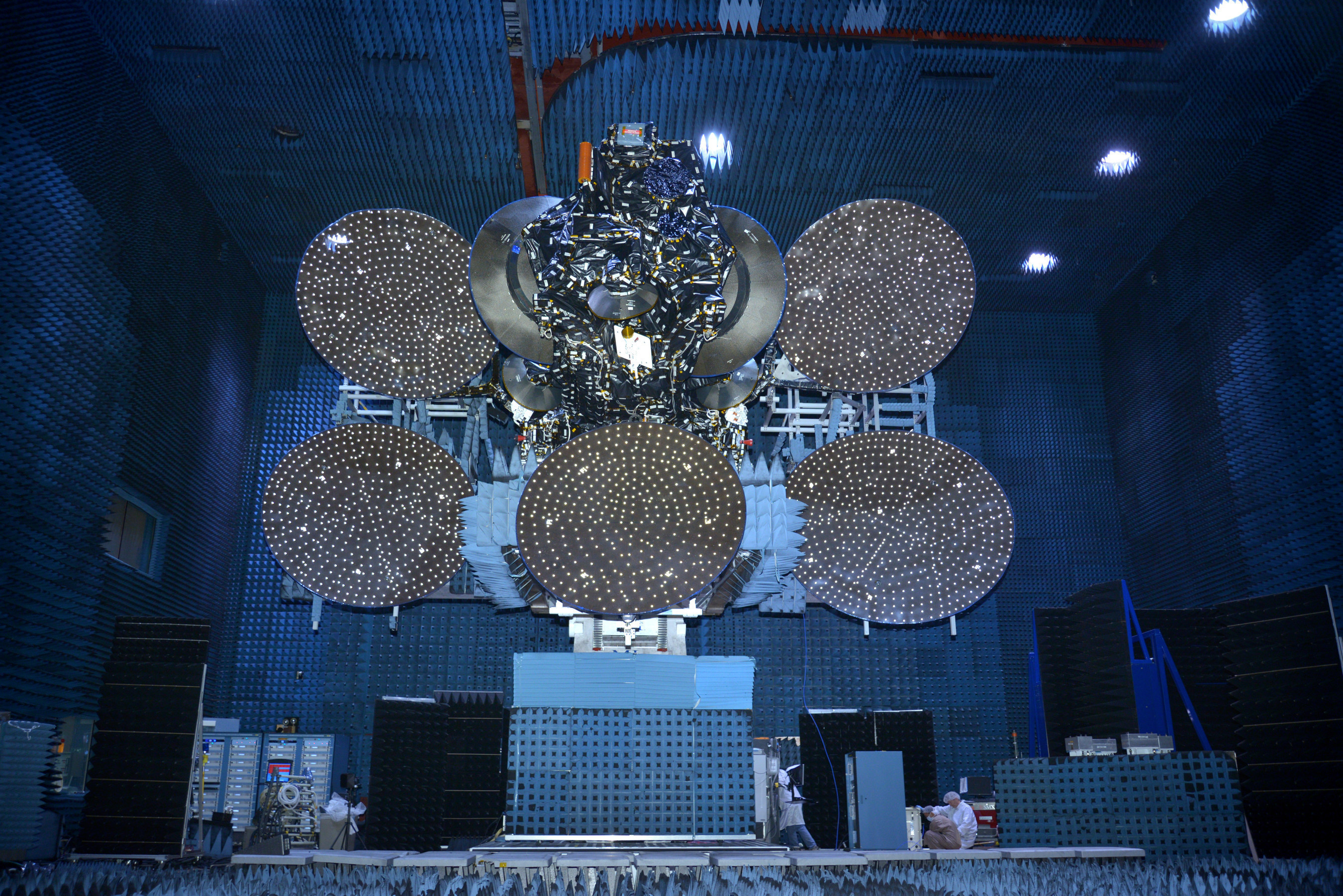 SSL Delivers Communications Satellite for SKY Perfect JSAT to Cape Canaveral Launch Base