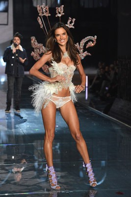Alessandra Ambrosio in the 2015 Victoria's Secret Fashion Show distributed internationally by Alfred Haber Distribution, Inc.
