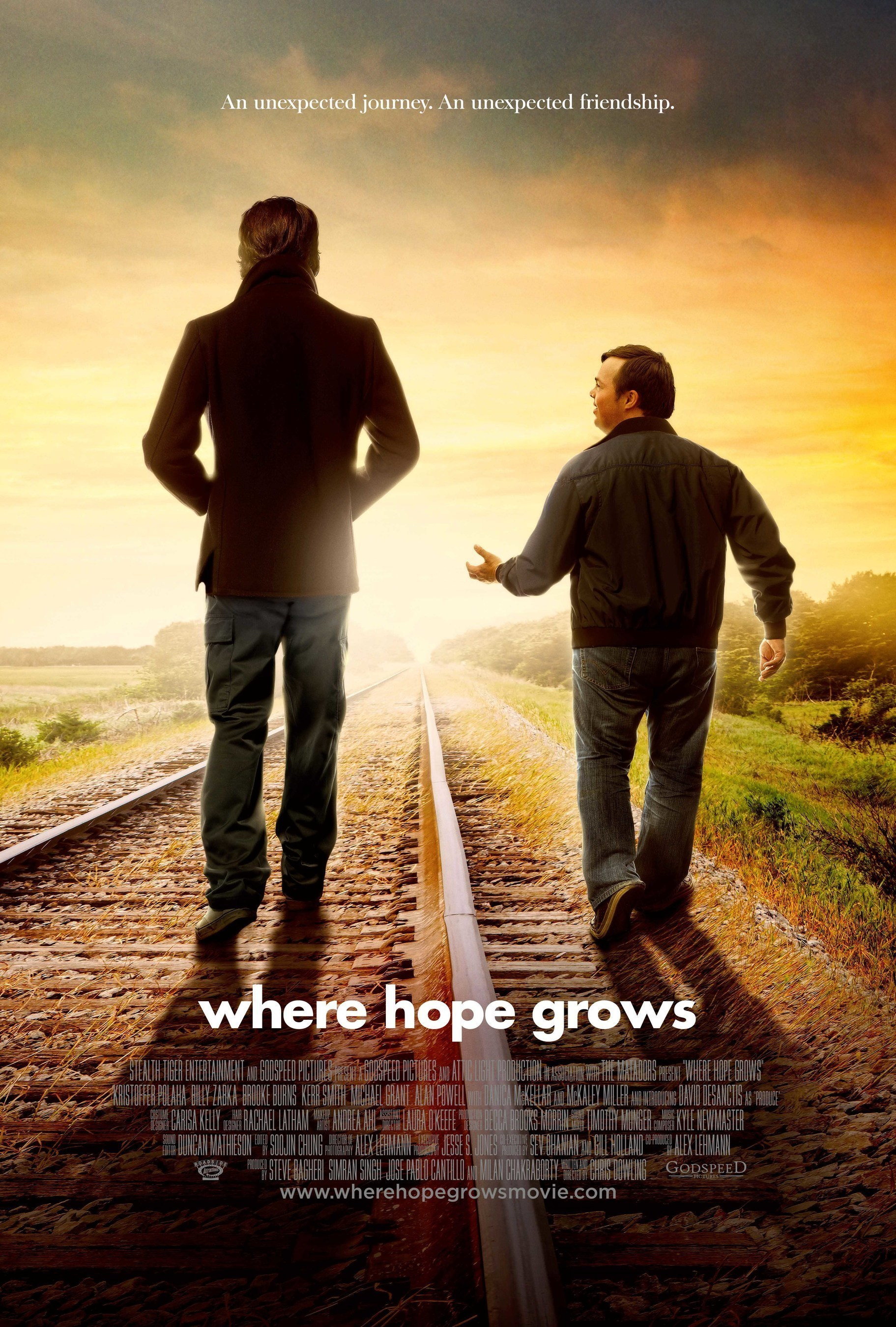 WHERE HOPE GROWS Takes on Blockbuster Box Office Films