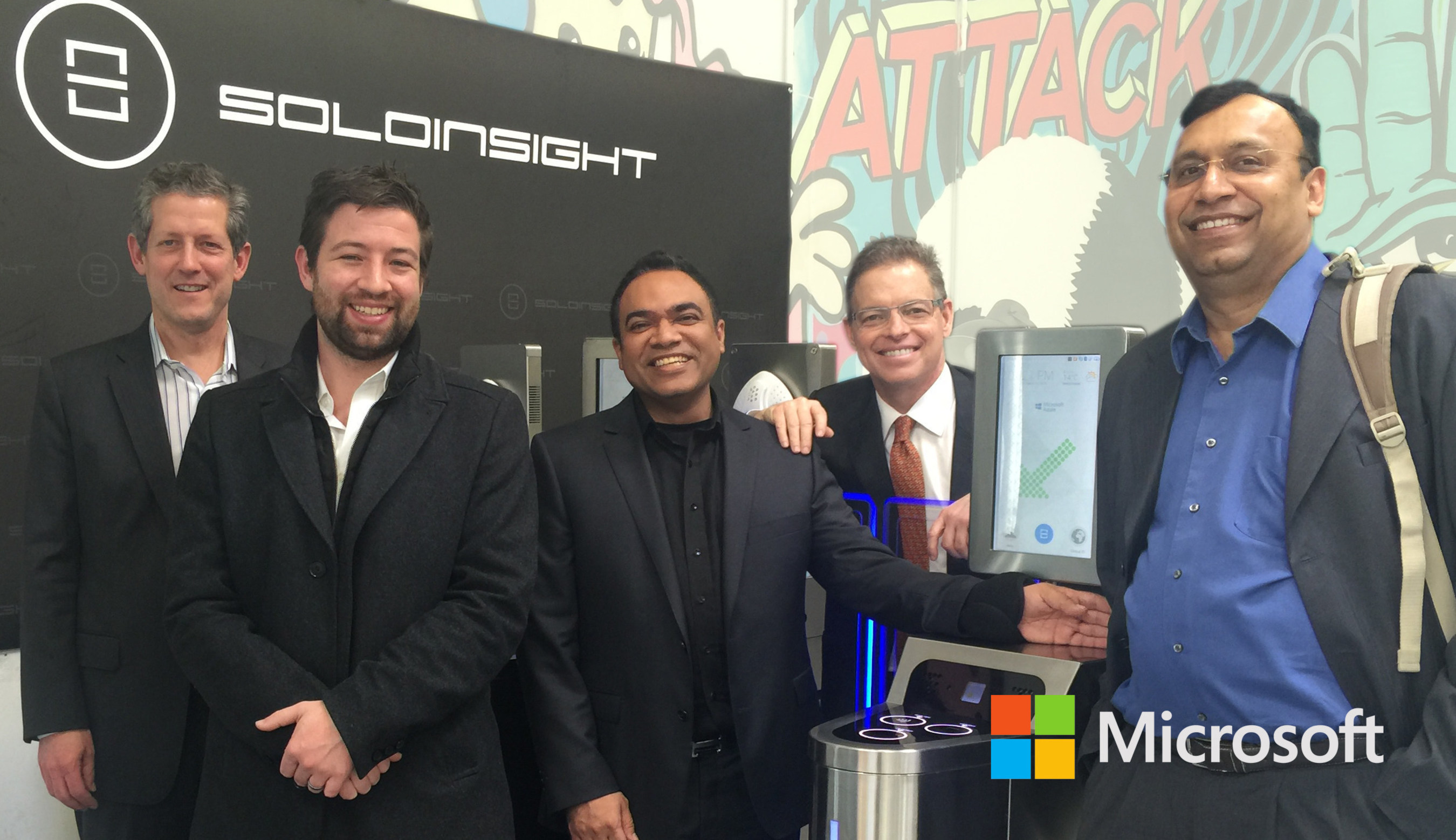 """Microsoft and Soloinsight to Help Build Internet of """"People"""" Together"""