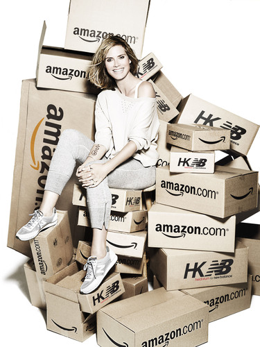 Heidi Klum for New Balance Collection will launch exclusively on Amazon for Fall 2010. (PRNewsFoto/Full Picture)