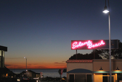 Solana Beach (CA) will save energy by swtiching to LED streetlights.  (PRNewsFoto/Chevron Energy Solutions)