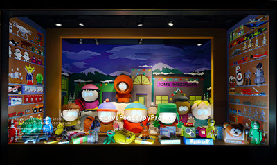 Barneys New York Madison Avenue Holiday Window - Trey Parker and Matt Stone of Comedy Central's South Park