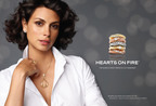 Morena Baccarin, Emmy nominated actress and star of Showtime's hit series Homeland, is officially named the new face of Hearts On Fire advertising, starting September 2013.  (PRNewsFoto/Hearts On Fire)