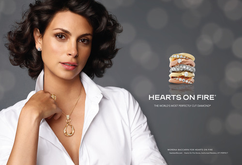 Morena Baccarin, Emmy nominated actress and star of Showtime's hit series Homeland, is officially named the new face of Hearts On Fire advertising, starting September 2013. (PRNewsFoto/Hearts On Fire) (PRNewsFoto/HEARTS ON FIRE)