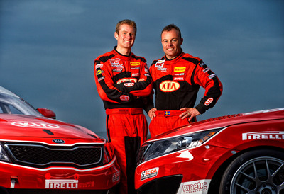Racing Announces 2014 Pirelli World Challenge Driver Line-Up.