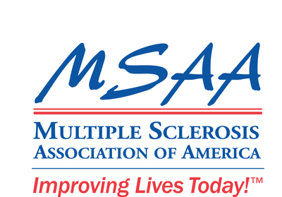 Multiple Sclerosis Association of America logo.