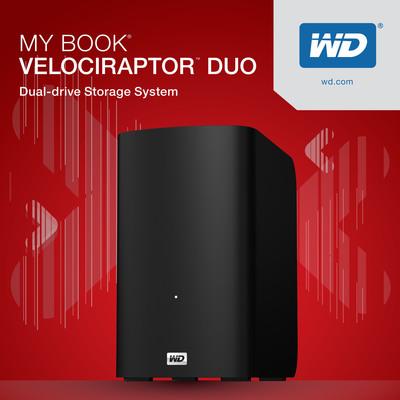 WD(R) Introduces Its Fastest My Book(R) External HDD System Ever.  (PRNewsFoto/Western Digital Technologies)